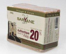 SARYANE mydło oliwno-laurowe 20% ALEPPO 200g