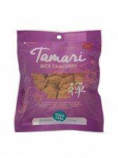 TERRASANA bio krakersy ryż BRĄZOWY TAMARI 60g