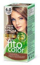 FITOCOLOR farba do włosów 6.0 NATURALNY JASNY BRĄZ
