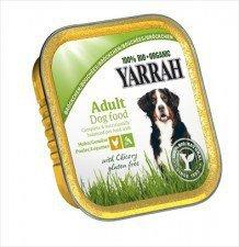 YARRAH bio kawałki dla psa kurczak + WARZYWA150g