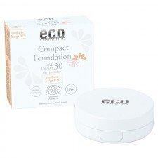 ECO COSMETICS podkład w kompakcie SPF30 MEDIUM 10g