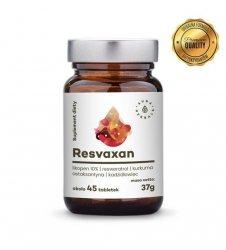 Resvaxan - unikalna formuła antyoksydantów - tabletki (37g) Aura