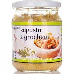 KAPUSTA Z GROCHEM BEZGLUTENOWA BIO 420 g - FARMA ŚWIĘTOKRZYSKA