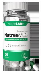 NUTREEVEG suplement dla vegan D3+K2+B12 60szt