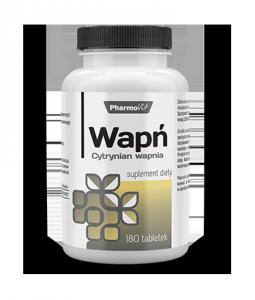 Wapń Cytrynian wapnia  Pharmowit 180 tab