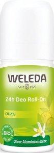 Dezodorant roll-on 24 h CYTRUS Weleda