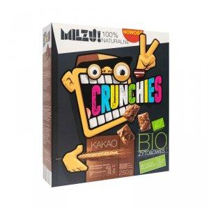 Płatki Crunchies żytnio-owsiane kakaowe BIO 250 g