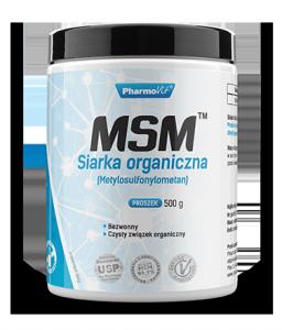 MSM™ Siarka organiczna (Metylosulfonylometan) 500g 250 porcji Pharmovit