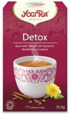 herbata funkcjonalna DETOX 17szt YOGI TEA