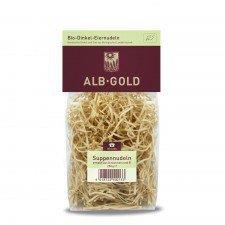 ALB-GOLD bio makaron orkiszowy ajeczny NITKA 250g