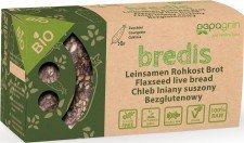 PAPAGRIN bio chleb lniany raw CUKINIA 70g