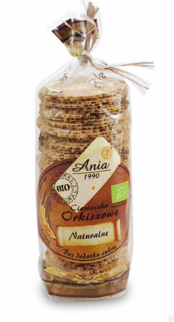 BIO ANIA bio ciasteczka bez cukru ORKISZOWE 120g