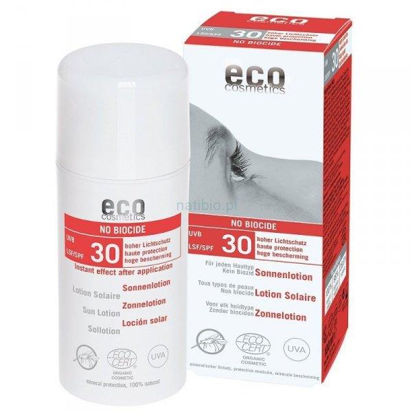 Emulsja na słońce LSF/SPF 30 SŁOŃCE I KOMARY 100 ml Eco Cosmetics