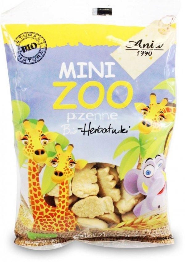 BIO ANIA bio ciasteczka zoo PSZENNE 100g