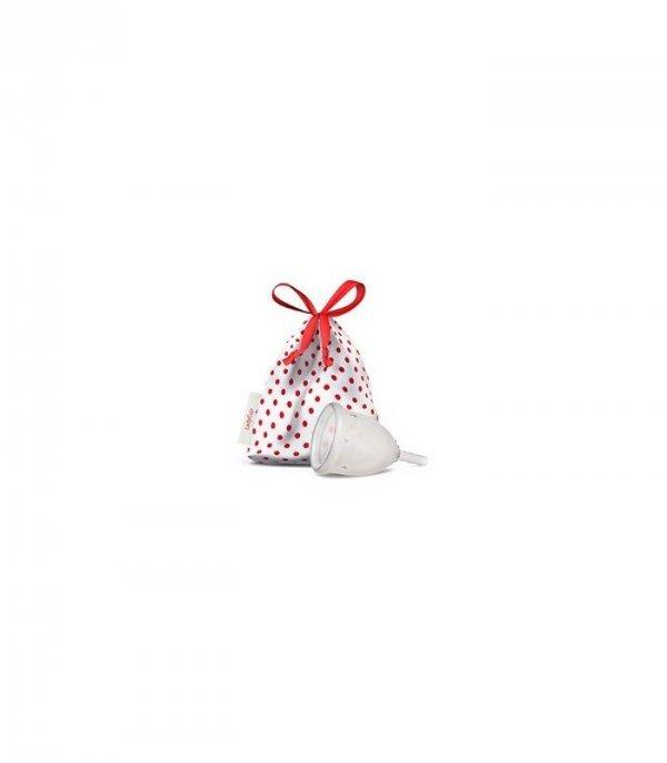 Kubeczek Menstruacyjny, kolor: Transparent (przezroczysty), rozmiar L, Lady Cup