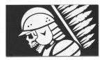 Combat-ID - Naklejka magnetyczna - Husarz - 145 x 80 mm