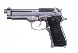 WE - Replika Beretta M92 Chrome