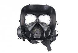 Replika maski p-gaz z systemem chłodzenia - czarny