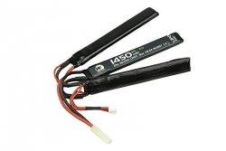 Akumulator LiPo 1450mAh 11.1V 25C - trójdzielny