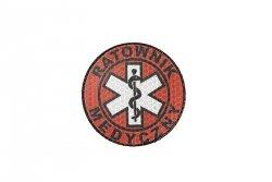 Naszywka IR - Ratownik Medyczny - full color