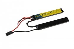 Electro River - Akumulator LiPo 7,4V 2000mAh 15C [1+1]