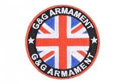 Naszywka G&G - UK