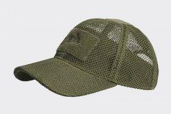 Czapka Baseball Mesh - olive green