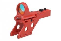 Replika kolimatora SeeMore Reflex Sight do pistoletów Hi-Capa - czerwony