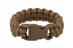 Bransoleta survivalowa Classic Cobra - coyote brown
