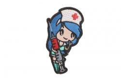 Naszywka Nurse Girl - niebieska