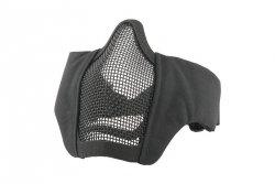 Maska Stalker Evo z montażem do hełmu FAST - Czarna