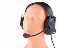 Aktywne ochronniki słuchu M32 - czarne