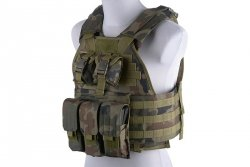 Plate Carrier type tactical vest - wz.93 woodland panther