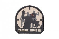 Naszywka Zombie Hunter PVC - SWAT