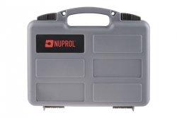 Walizka na pistolet Nuprol pistol case - szara