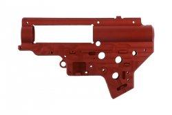 Wzmocniony szkielet gearboxa CNC - v.2 - QSC - czerwony
