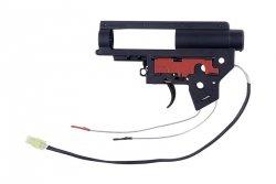 Specna Arms - Wzmocniony szkielet gearboxa V2 z mikrostykiem (kable na tył)