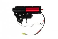 Specna Arms - Kompletny gearbox V2 z mikrostykiem (okablowanie na przód)