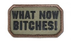 MIL-SPEC MONKEY - Morale Patch - What Now - Forest