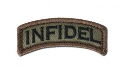 MIL-SPEC MONKEY - Morale Patch - Infidel - Forest