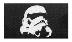 Combat-ID - Naszywka Stormtrooper - Czarny - Gen I