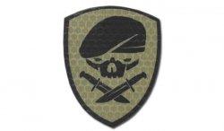 Combat-ID - Naszywka Medal Of Honor Skull - Coyote Tan - Gen I