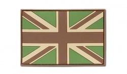 JTG - Naszywka 3D - Flaga Wielka Brytania - Multicam