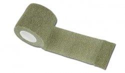 Mil-Tec - Taśma Self Adhesive Camo Tape - Zielony OD - 15933001