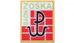 Combat-ID - Naszywka JWK ''Baon Zośka'' Lubliniec - Kolor - Gen I