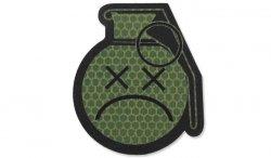 Combat-ID - Naszywka Sad Frag Grenade - OD - Gen I