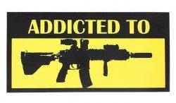 Combat-ID - Naklejka - Addicted to 416 Tactical