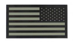Combat-ID - Naszywka USA Prawa - Duża - TAN - Gen II