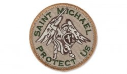 MIL-SPEC MONKEY - Morale Patch - Saint Michael - Arid