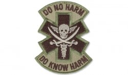 MIL-SPEC MONKEY - Morale Patch - Do No Harm Pirate - Multicam